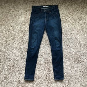 J Brand High Rise Skinny in Clocker Skinny Jean